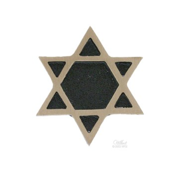Star Of David Life Expression Emblem