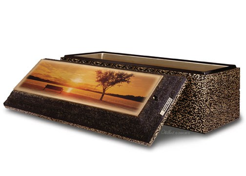 Lake Bench on Bronze Triune®