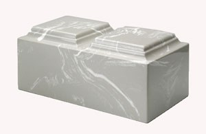 MacKenzie Cultured Marble Silver-Gray