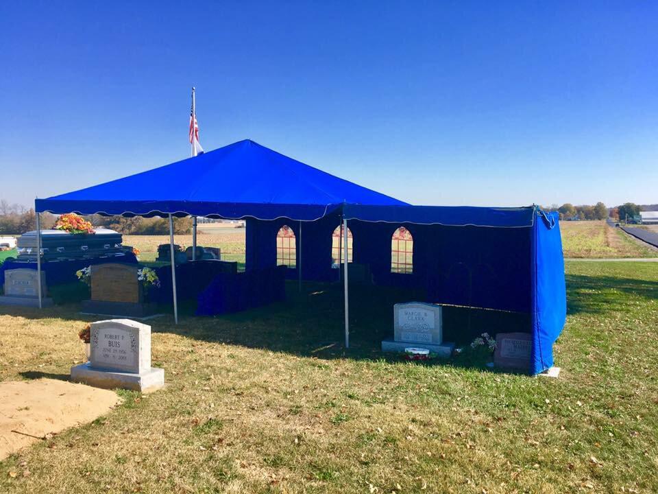 Funeral Setups - Wilbert Burial Vaults